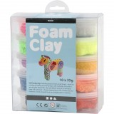 Foam Clay 10 x 35 gr. Image